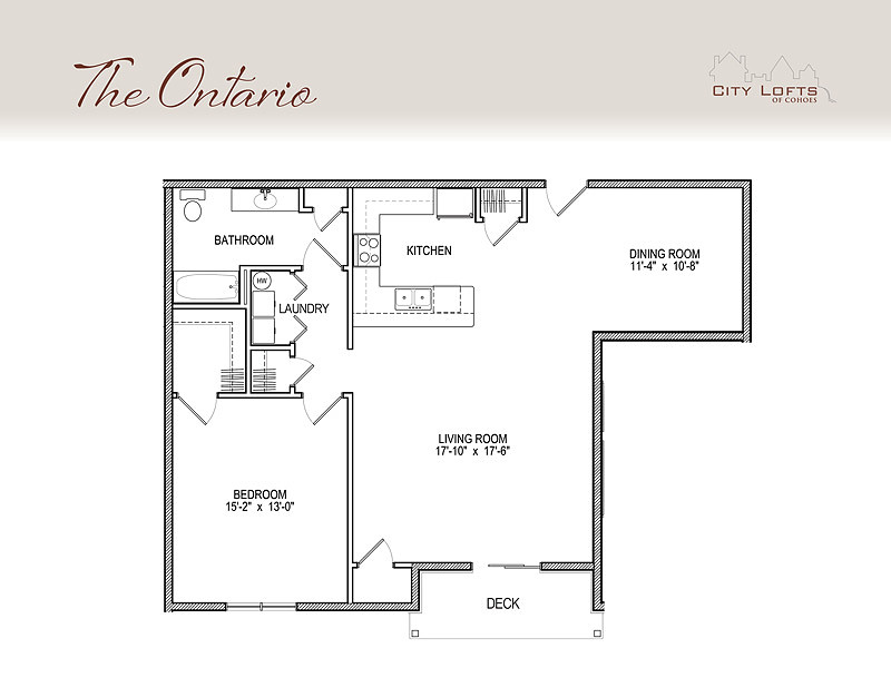 City Lofts Of Cohoes Floor Plans